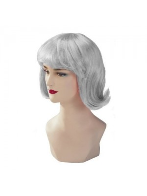 Silver Stargazer Adjustable Terry Style Fashion Wig