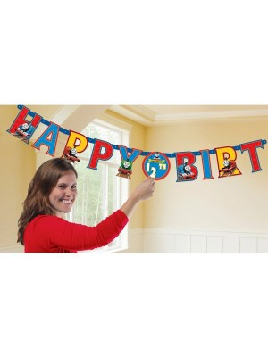Amscan Letter Banner - Thomas Add An Age