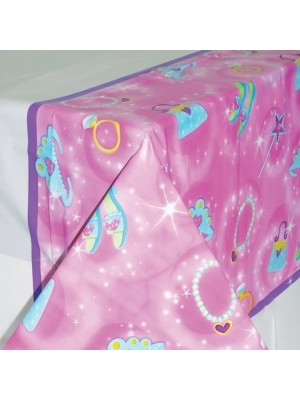 Amscan Plastic Tablecover - Princess