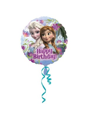 Anagram 18 Inch Foil Balloon - Happy Birthday Frozen