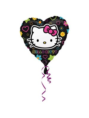 Anagram 18 Inch Heart Foil Balloon - Hello Kitty Tween Heart