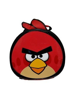 Angry Birds Face Shape Lunch Bag