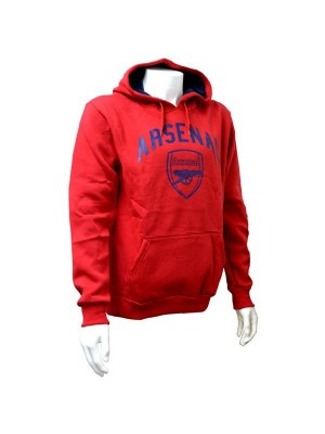 Arsenal Red Crest Mens Hoody - M