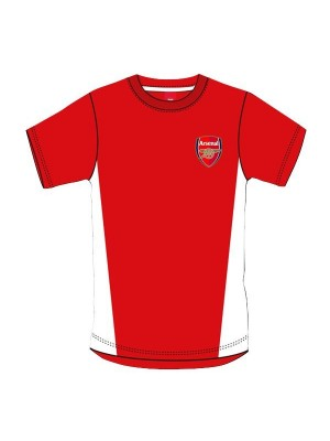 Arsenal Red Crest Mens T-Shirt - S