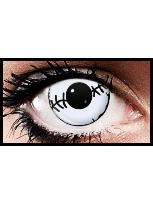 Barbed Wire Crazy Halloween Coloured Contact Lenses (90 Days)