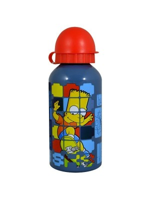 Bart Simpson Digital Aluminium Water Bottle