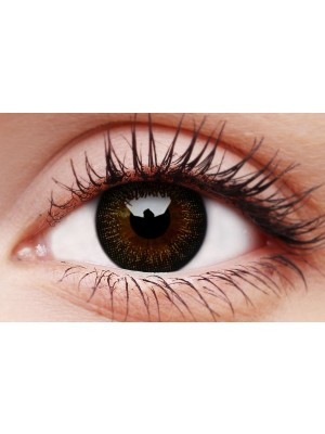 ColourVUE Gorgeous Brown Big Eye Coloured Contact Lenses (90 Day)