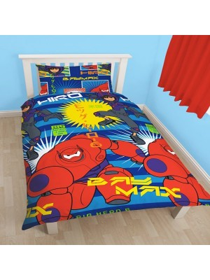 Big Hero 6 Reversible Single Duvet