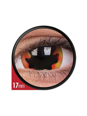 Blackhole Sun Mini Sclera Coloured Contact Lenses (1 Year) 17mm