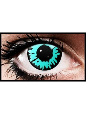 Blue Wolf Crazy Coloured Contact Lenses (90 Day Lenses)