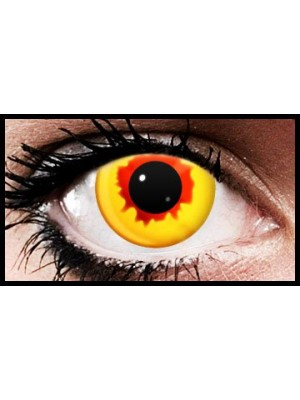 Burn Out Crazy Coloured Contact Lenses (90 days)