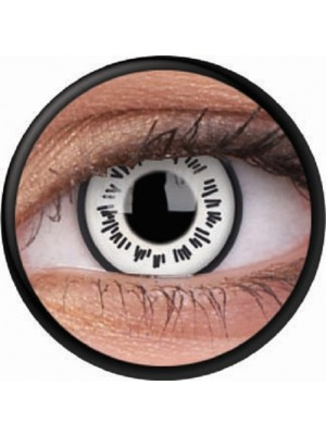 Byakugan Crazy Colour Contact Lenses (1 Year Wear)