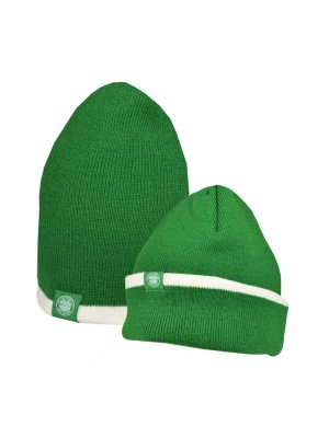 Celtic Reverse Cuff Knitted Hat