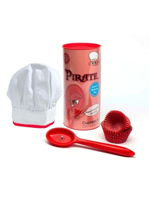 Childrens Cupcake Baking Set - Pirate