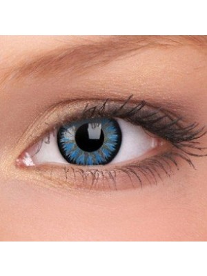 ColourVUE Aqua Glamour Coloured Contact Lenses (90 Day)