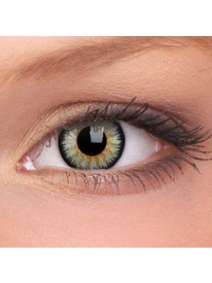 ColourVUE Green Glamour Coloured Contact Lenses (90 Day)