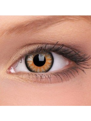 ColourVUE Honey Glamour Coloured Contact Lenses (90 Day)