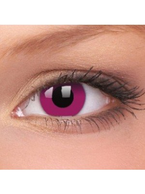 Purple Crazy Colour Contact Lenses (1 Year Wear)