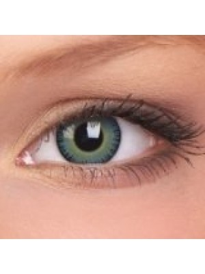 ColourVUE Fusion Yellow Blue Coloured Contact Lenses (30 Day)