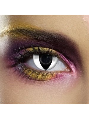 EDIT Colour Vision White Cat Contact Lenses