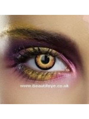 EDIT Colour Vision Orange Werewolf Contact Lenses
