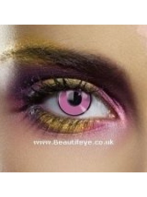 EDIT Colour Vision Pink Eye Contact Lenses