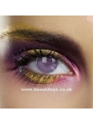 EDIT Colour Vision Violet Mesh Contact Lenses
