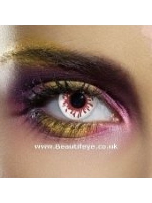 EDIT Crazy Blood Splat Contact Lenses