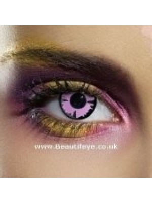 EDIT Crazy Purple Witch Contact Lenses