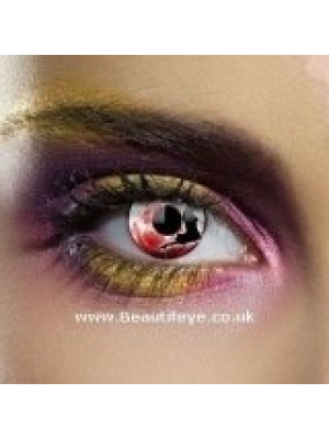 EDIT Dracula Vampire Moon Contact Lenses