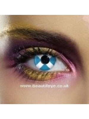 EDIT Flag Scotland Contact Lenses