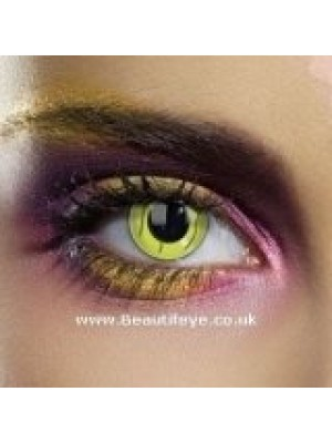 EDIT Frankenstein Green Stitch Contact Lenses