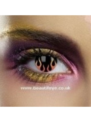 EDIT UL13 Hell's Flame Contact Lenses