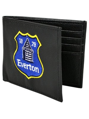 Everton Crest Embroidered PU Leather Wallet