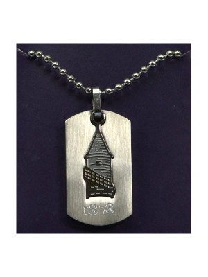 Everton Cut Out Dog Tag & Chain