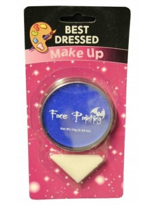 Orange Fancy Dress Halloween Party Makeup Face Paint With Sponge