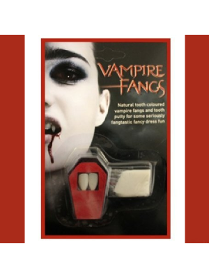 Dracula Vampire Fangs With Putty For A Fangtastic Halloween