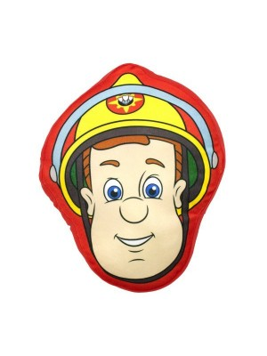 Fireman Sam Head Shaped Cushion