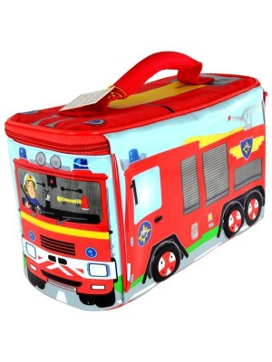 Fireman Sam Truck Shaped Lunch Bag