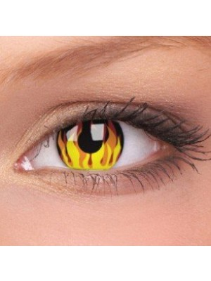 Flame Hot Crazy Colour Contact Lenses (1 Year Wear)