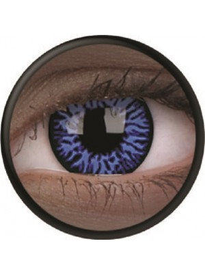 UV Glow Drax Crazy Colour Contact Lenses (1 Year)