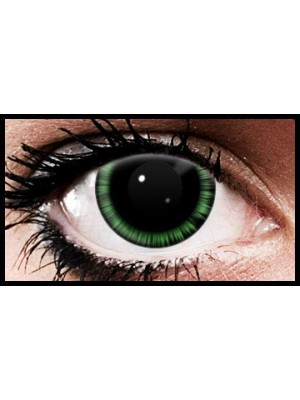 Green Abyss Crazy Coloured Contact Lenses (90 days)