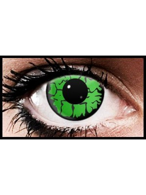Green Wolf Crazy Coloured Contact Lenses (90 Day Lenses)