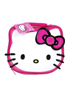 Hello Kitty Face Lunch Bag