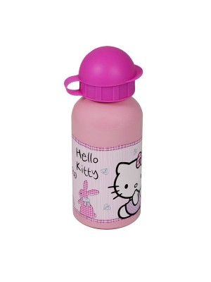 Hello Kitty Woodland Animals Aluminium Water Bottle