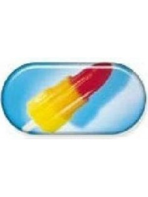 Ice Lolly Summer Vibes Contact Lens Soaking Case