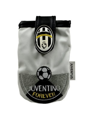 Juventus Mobile Phone Pouch With Flip - White