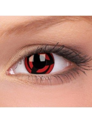 Kakashi Crazy Colour Contact Lenses (1 Year Wear)