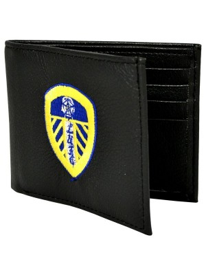 Leeds United Crest Embroidered PU Leather Wallet