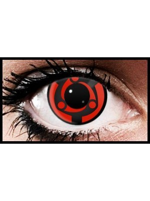 Madara Mangekyu Anime Coloured Contact Lenses (90 Day)